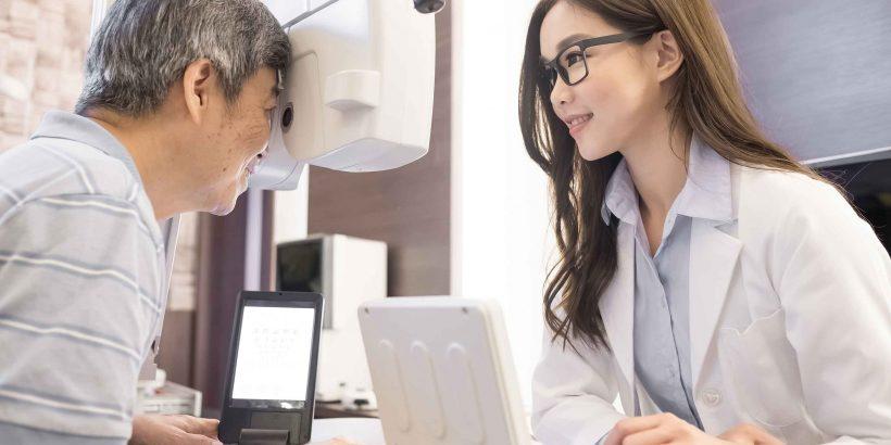 phòng biến chứng ở mắt khi bị tiểu đường