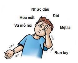 Các triệu chứng hạ đường huyết