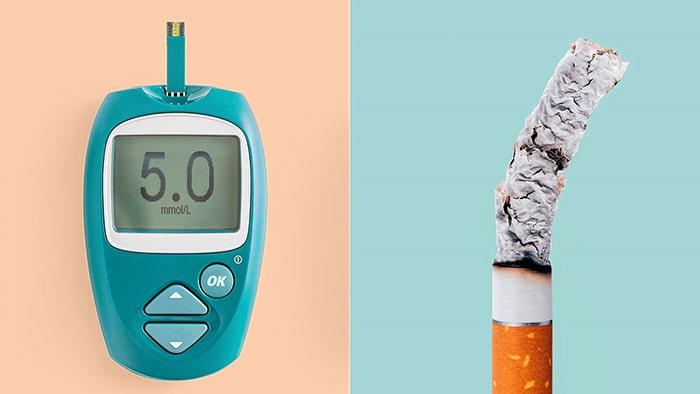 Không hút thuốc để tránh bệnh tiểu đường