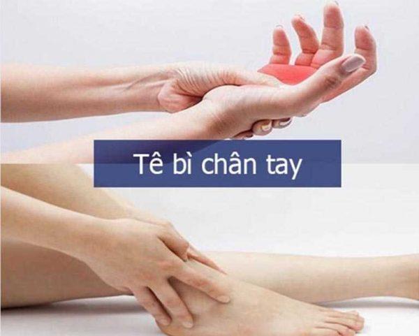 bệnh tê tay chân ở người tiểu đường