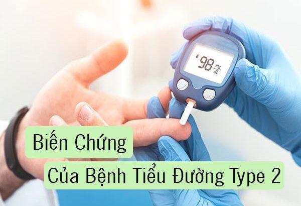 Những biến chứng của bệnh tiểu đường tuýp 2 bạn nên biết