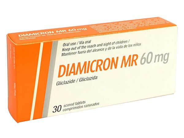 Thuốc tây trị tiểu đường tốt nhất hiện nay Diamicron