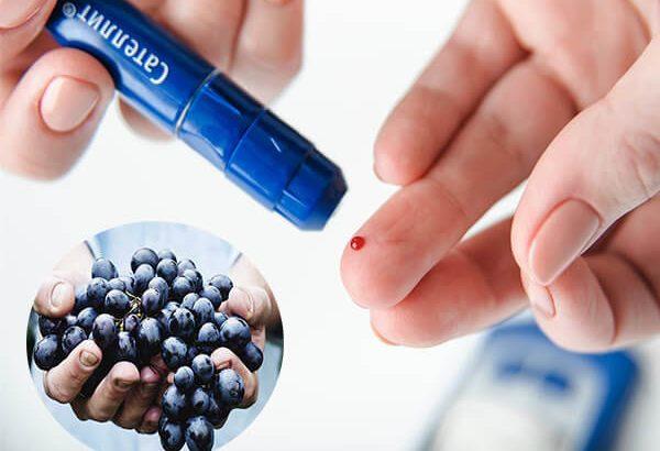 Những người mắc bệnh tiểu đường ăn nho được không?
