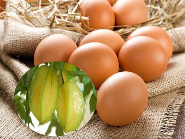 Bài thuốc chữa tiểu đường bằng khế chua và trứng gà