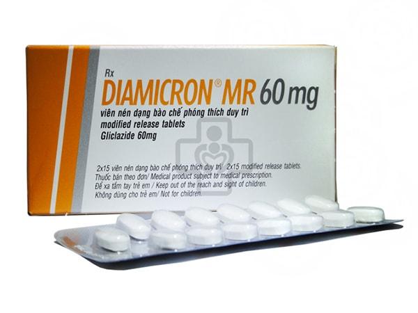 Thuốc trị tiểu đường tốt nhất hiện nay Diamicron MR