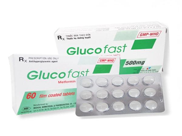 Thuốc trị tiểu đường tốt nhất hiện nay Glucofast
