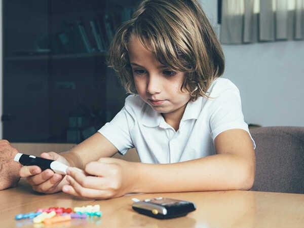 Khi trẻ nhỏ mắc bệnh tiểu đường