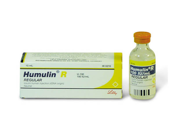 Tác dụng của thuốc tiêm tiểu đường Humulin