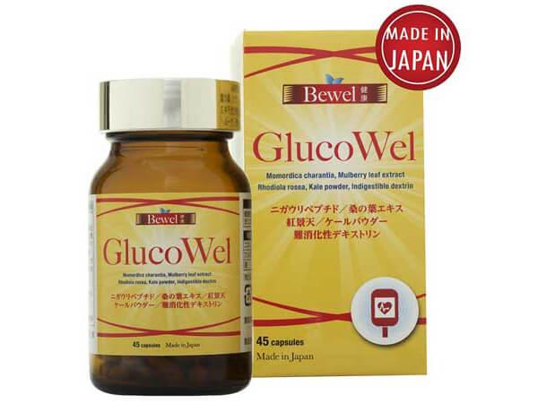 Thuốc tiểu đường Nhật Bản Waki Bewel Glucowel