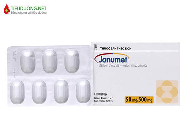 Thuốc tiểu đường Janumet là gì?