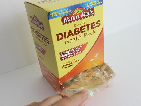 Thuốc tiểu đường của Mỹ Nature Made Diabetes Health Pack