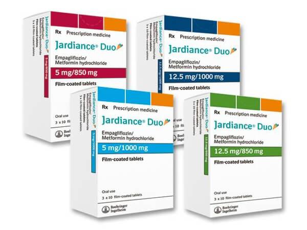Thuốc tiểu đường mỹ Jardiance Duo