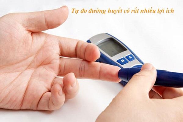 Tự đo đường huyết có rất nhiều lợi ích