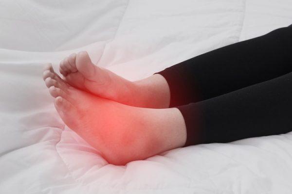 bàn chân ở người tiểu đường