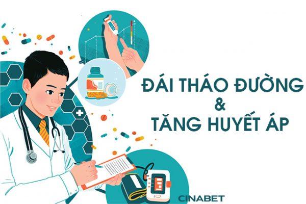 cao huyết áp thường mắc cả tiểu đường