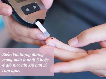 tăng đường huyết khi bị cảm lạnh