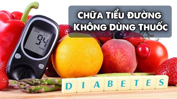 chữa tiểu đường không dùng thuốc