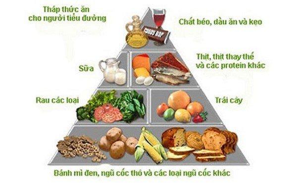 nguyên tắc về dinh dưỡng